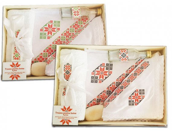 Trusou botez 6 piese traditional