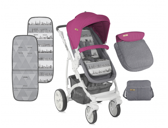 CARUCIOR  SISTEM VISTA Rose & Grey Cities