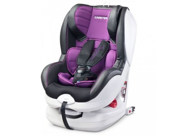 Caretero DEFENDER+ ISOFIX 0-18 Kg Purple