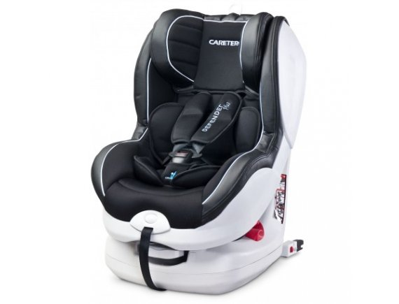 Caretero DEFENDER+ ISOFIX 0-18 Kg Black