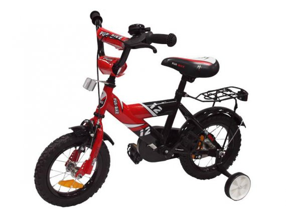 Bicicleta copii Fun Bike 888 Red 12