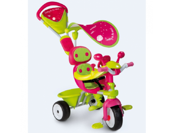 Tricicleta Smoby Baby Driver Confort Girl