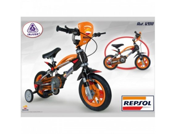 Bicicleta copii 2 in 1 |Injusa Repsol