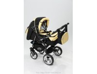 Carucior copii 3 in 1 Baby Merc Junior Plus