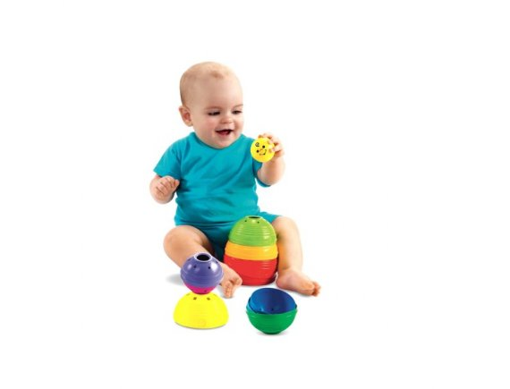 Piramida din cupe Fisher-Price