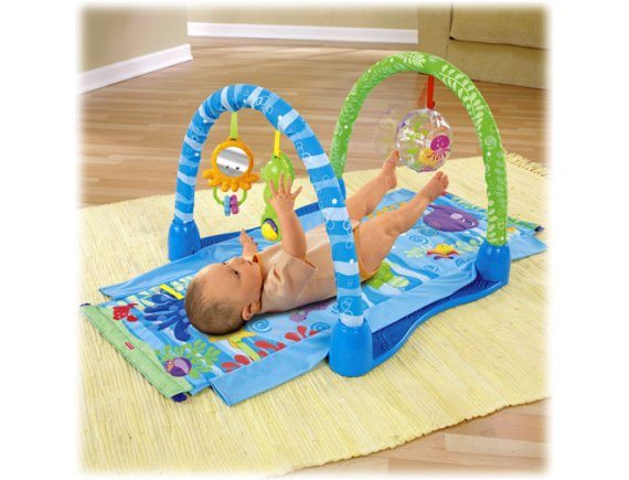 Centru activitati Ocean Wonders Kick-Crawl Gym Fisher-Price