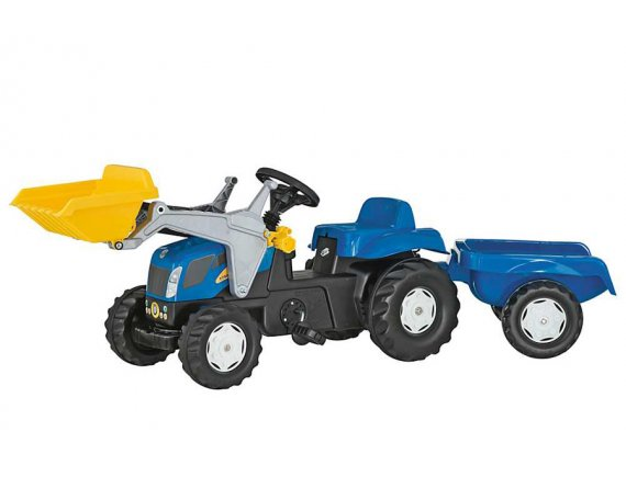 Tractor cu pedale si remorca copii ROLLY TOYS 023929