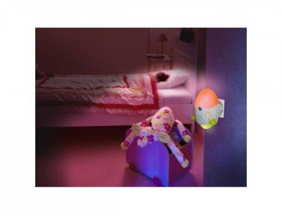 Lampa de veghe pentru bebelusi cu functie anti-tantari
