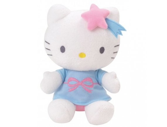 Jucarie de plus fosforescenta Hello Kitty Luminou