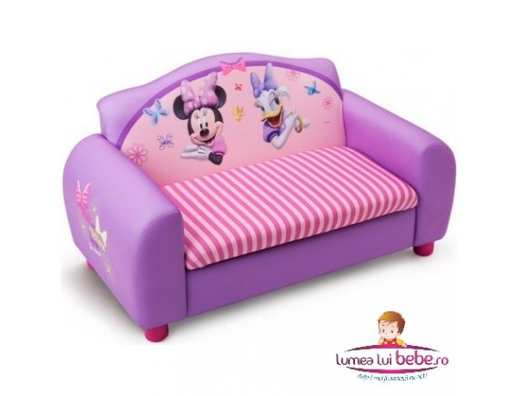Canapea si cutie depozitare jucarii Disney