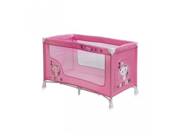 Pat pliant 1 nivel NANNY Pink Kitten