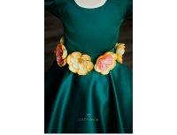Rochita Green Flowers Aplicatii Manuale 2 pana la 4 ani