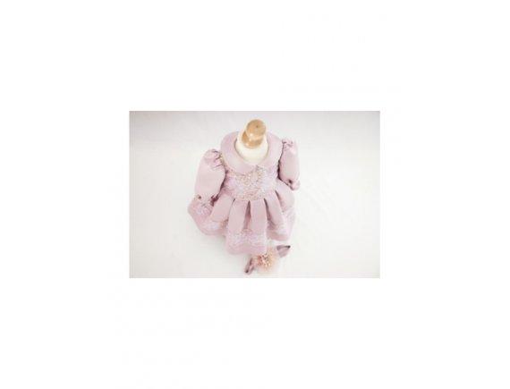 Rochita Luxury Pink Sparkles si Bentita De Par 3 ani pana la 6 ani