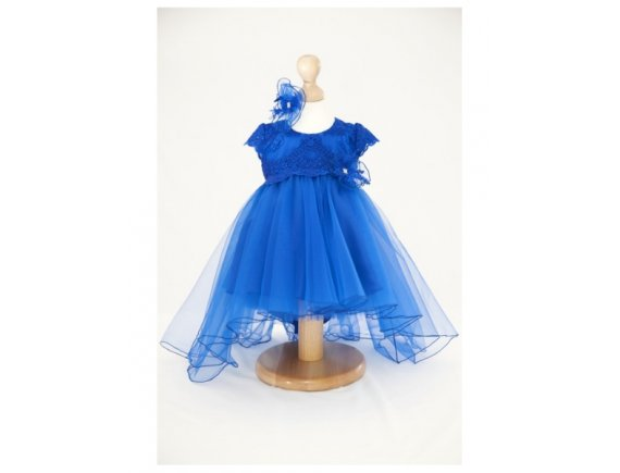 Rochita Luxury Royal Blue 5 pana la 6 ani