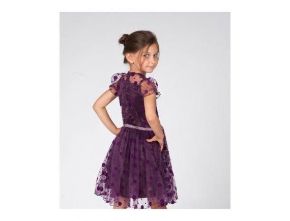 Rochita Purple Drops Dress 4 ani