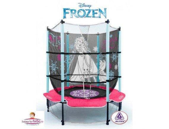 Trambulina pentru copii Injusa Cars-Frozen