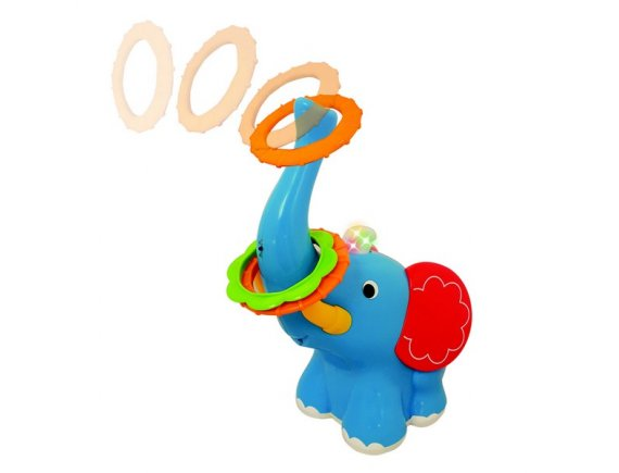 Jucarie interactiva Playful Elephant Toss Kiddieland
