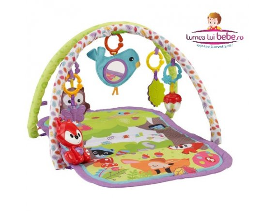 Centru activitati Woodland Friends 3-in-1 Musical Activity Gym Fisher-Price