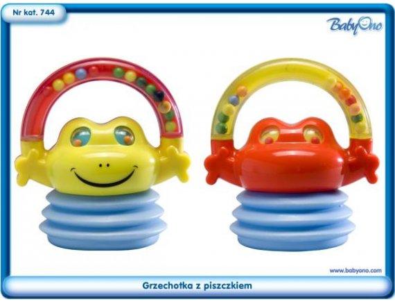Jucarie bebelusi-Sunatoare pentru copii,broasca,BABY ONO