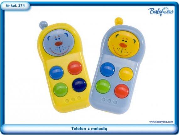 Jucarie copii Telefon muzical BABY ONO