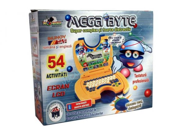 Laptop pentru copii in limba romana Mega Byte