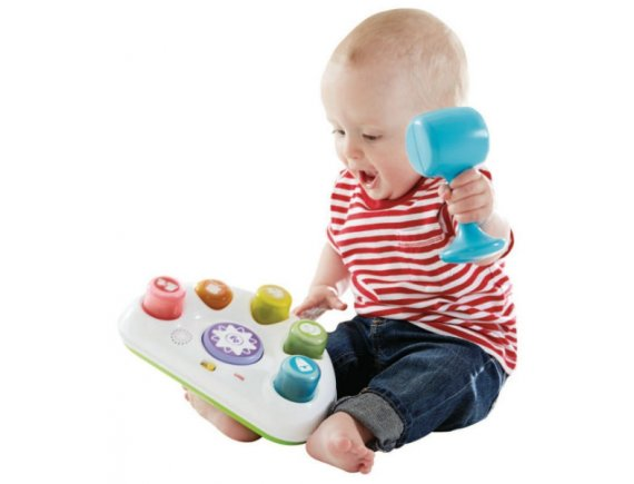 Jucarie Bright Beats Tappin Beats Bench Fisher Price